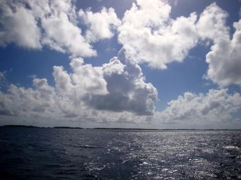 Blick über die Lagune von Makemo
