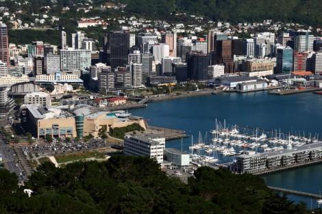 Wellington von Mount Victoria