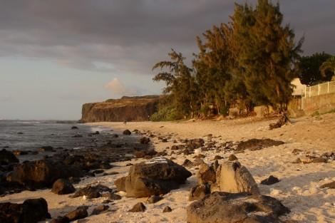 """Der Strand von """"Boucant Canot"""""""